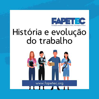 História e evolução do trabalho