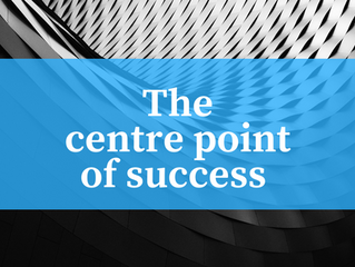 The centre point of success