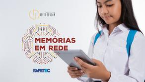 """Instituto Devir Educom e FAPETEC firmam parceria para promoção do """"Memórias em Rede"""""""
