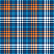 NorthernWhimsy blue orng madras plaid 11