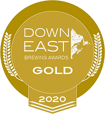 Down East Brewing Award Gold Medal 2020