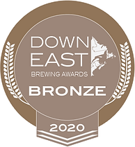 Down East Brewing Awards 2020 Bronze Medal