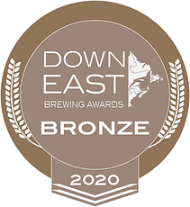 Down East Brewing Award Bronze Medal 2020