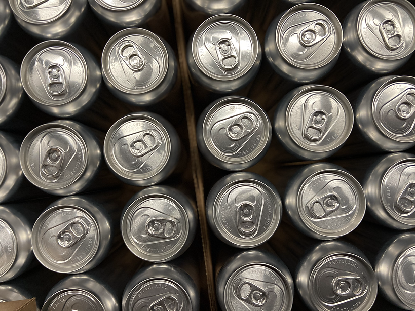 beers cans