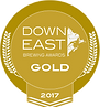 Down East Brewing Award Gold 2017