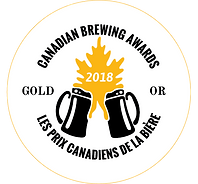 Canadian Brewing Awards 2018 Gold Medal