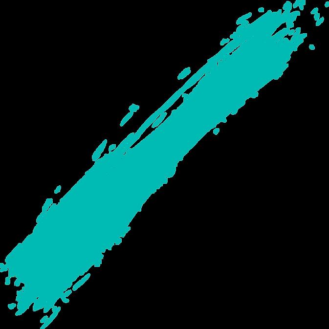 Turqouise Paint Strip