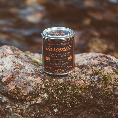 Yosemite Candle by Good & Well Supply Co