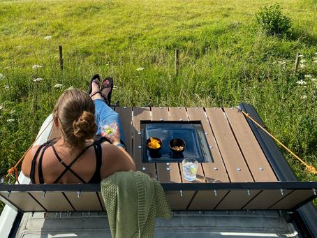 Van Build | Building Our Roof Deck