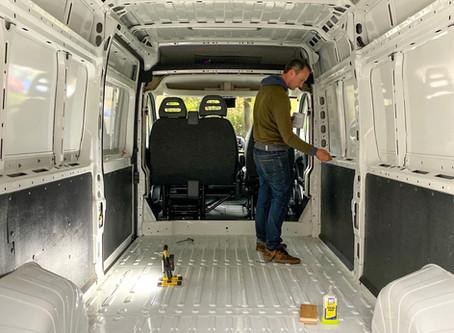 Van Build | Initial Prep