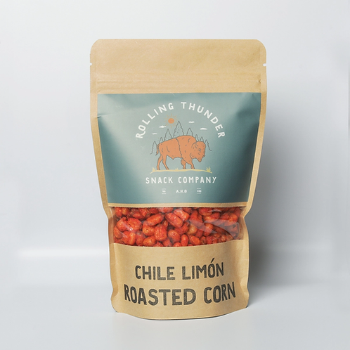 Chile Limon Roasted Corn by Rolling Thunder Snack Company