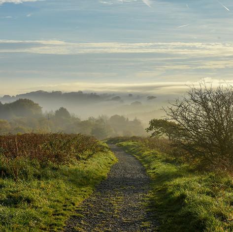 DA5-07-Caerphilly Mountain dawn-Autumn 1