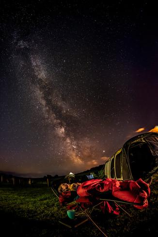 24 - Sleeping under the Stars - The Unex