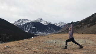 Warrior 1- Virabhadrasana 1