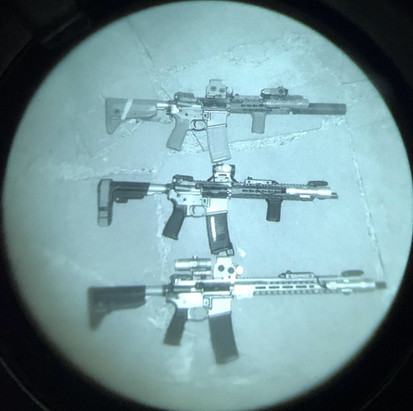 AR-15s Through Night Vision