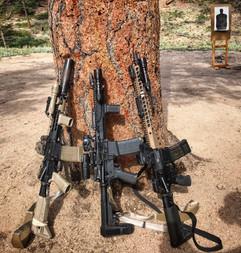 Various AR-15 Setups