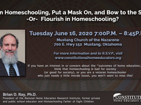 An Evening with Dr. Brian Ray