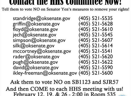 ALERT: Contact the HHS Committee