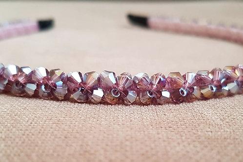 Shinny Crystal BeadedHair Hoop
