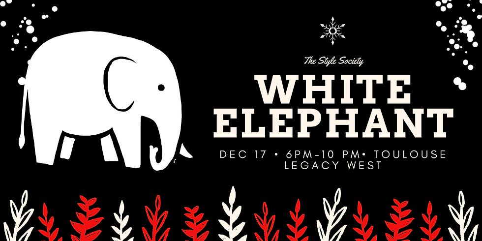 THE STYLE SOCIETY WHITE ELEPHANT