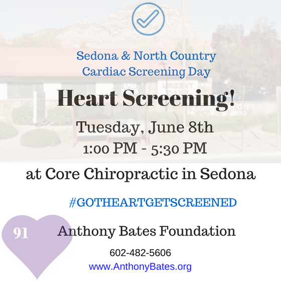 Low Cost Heart Screenings - Anthony Bates Foundation