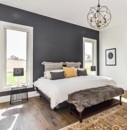Master bedroom modern farmhouse
