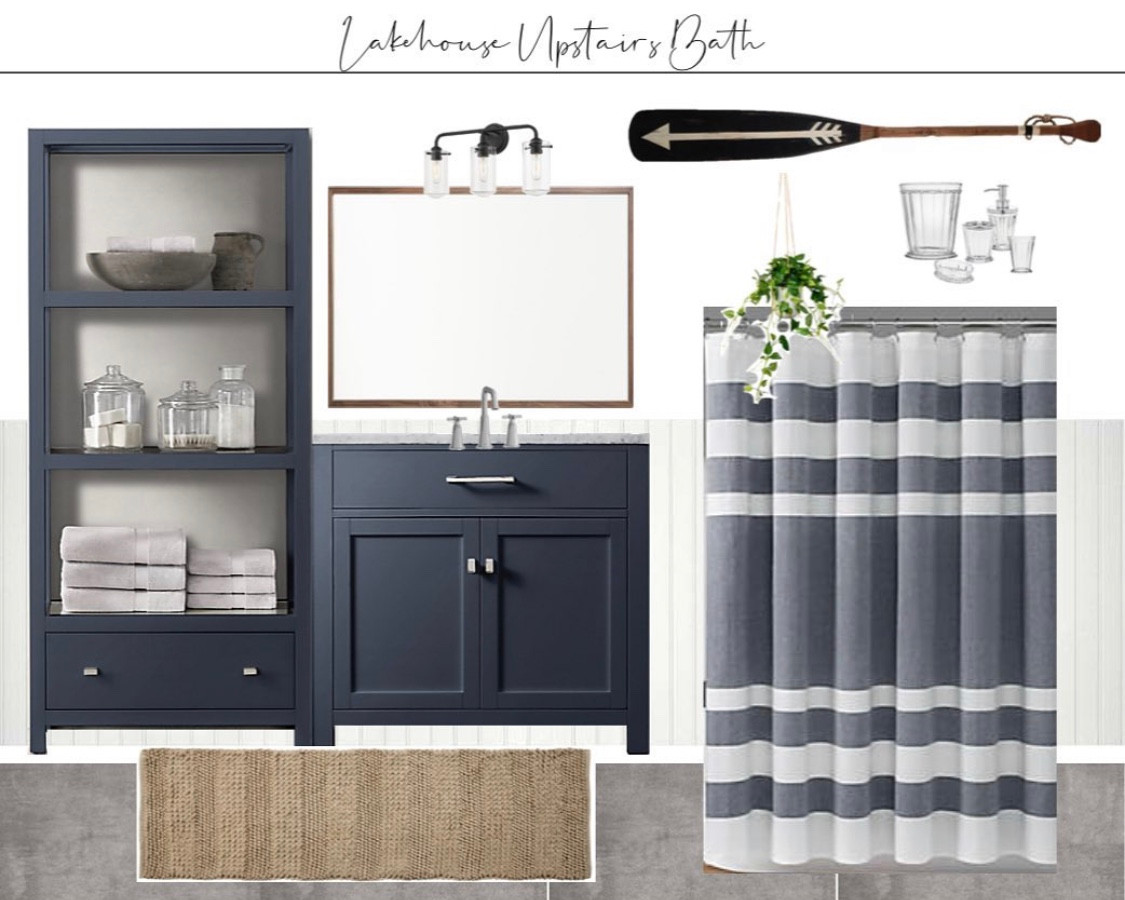 Design board for Lakehouse bathroom 1