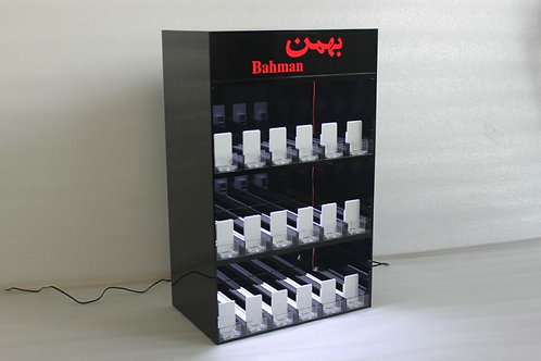 cigarette display stand with Led lighting
