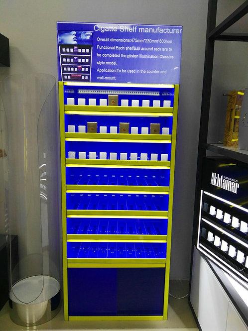 led acrylic cigarette display cabinet