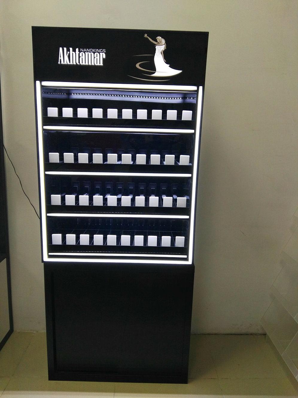Led Cigarette Display Stand Shelf