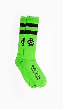 NEON GREEN RC SOCKS