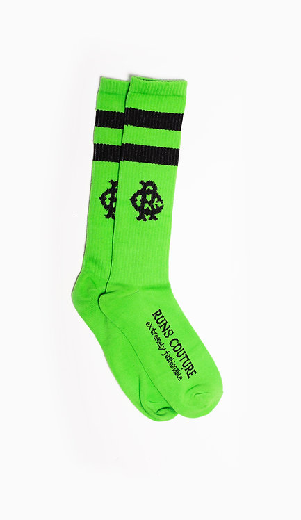 Neon Green RC Socks