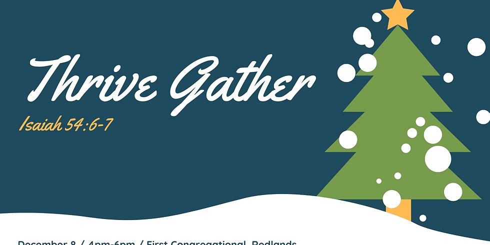 Thrive Gather - Christmas Event