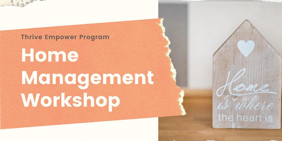 Home Management Workshop