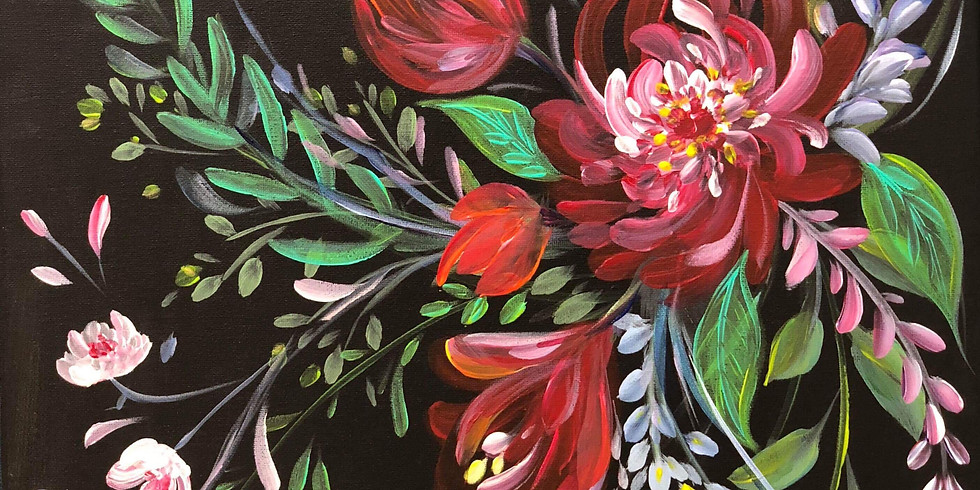 Thrive Single Moms Paint Night Fundraiser