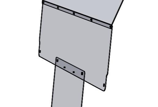 pare-brise arrière / rear windshield, Teryx