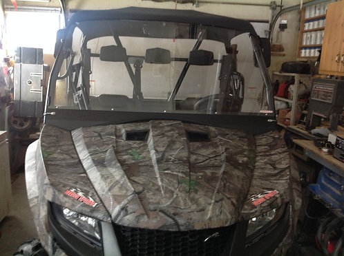 Arctic Cat Prowler full windshield with stiffener