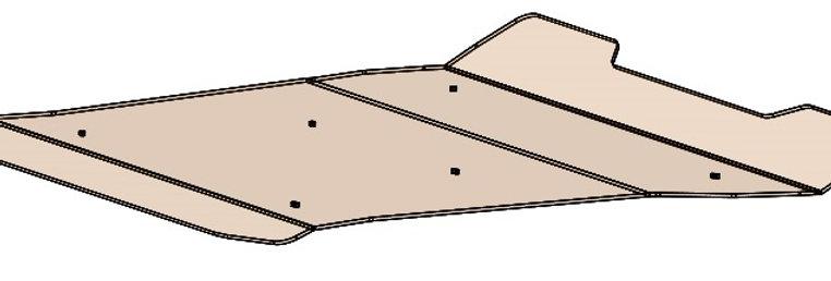 toit polycarbonate / polycarbonate roof, RZR 570 800 900