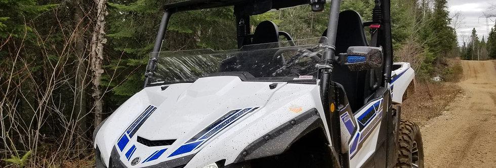demi pare-brise / half windshield, Wolverine 850 X2 X4