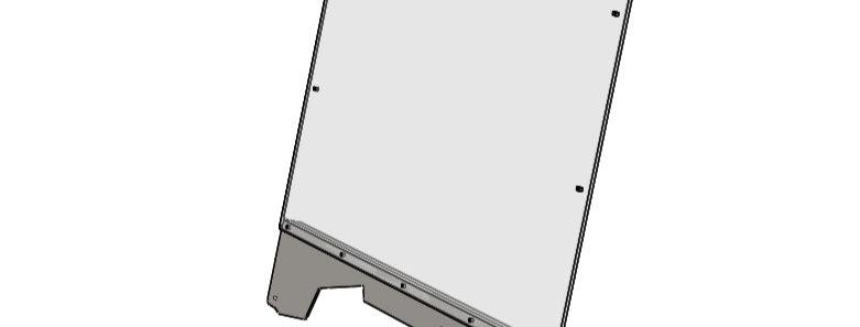 pare-brise / windshield, Pioneer 700, 700-4