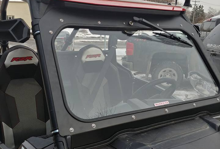 Kit pour pare-brise de verre / glass windshield kit, RZR