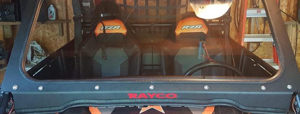 Kit pour pare-brise de verre Polaris RZR 900 1000 glass windshield kit