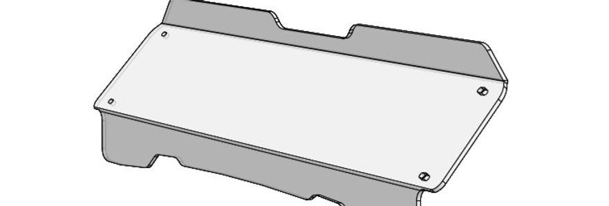 demi pare-brise / half windshield, RZR