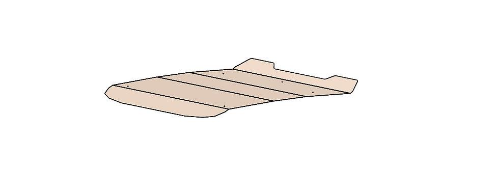 toit teinté Can-Am Commander Maverick tinted roof