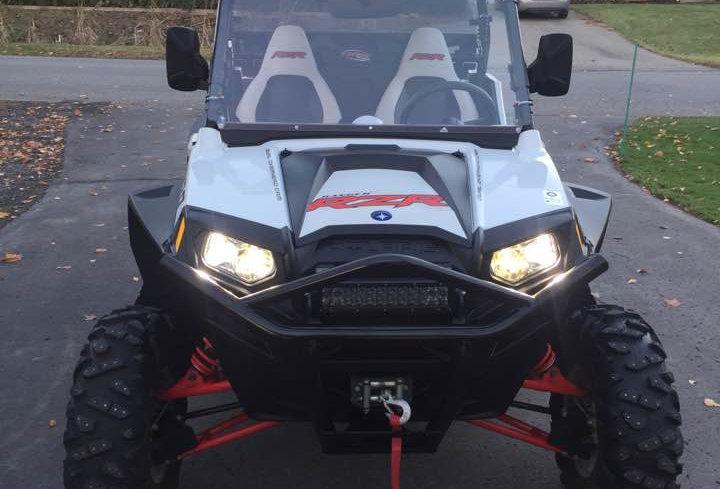 pare-brise Polaris RZR 570 800 900 windshield