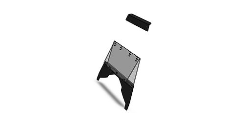 Polaris Ace folding windshield