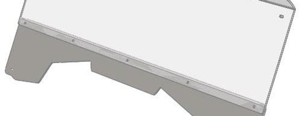 demi pare-brise / half windshield, Pioneer 700 700-4