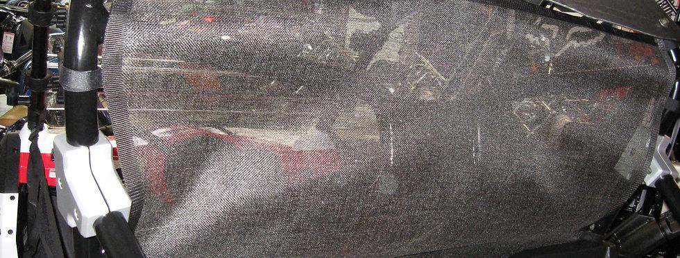 Filet anti-vent arrière CF Moto Snyper ZForce 600 rear windscreen