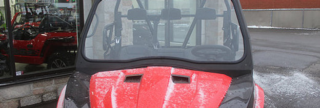 kit pare-brise de verre / glass windshield kit, Prowler