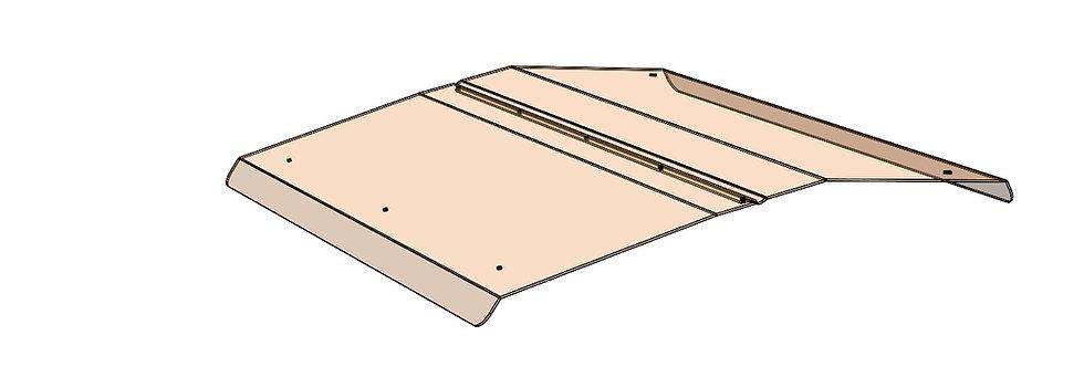toit de polycarbonate Prowler polycarbonate roof